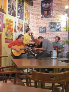 Hot Club of North Carolina at Tate Street Coffeehouse